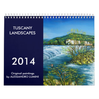 TUSCANY LANDSCAPES 2014 CALENDAR