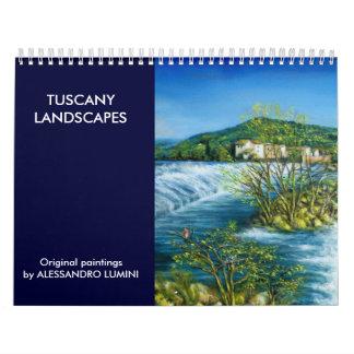 TUSCANY LANDSCAPES 2016 CALENDAR