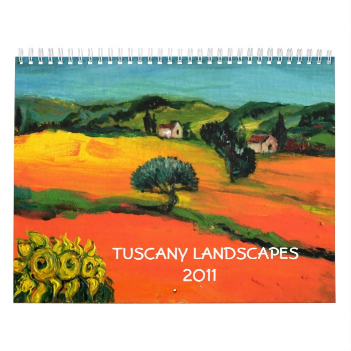 TUSCANY LANDSCAPES COLLECTION 2017 CALENDAR