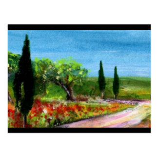 TUSCANY LANDSCAPES POST CARDS
