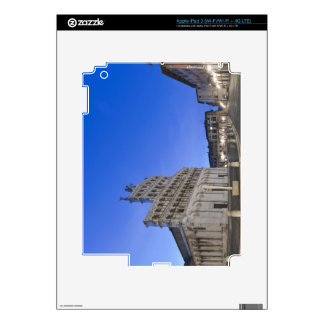 Tuscany, Lucca, Piazza San Michele at Dawn iPad 3 Decals