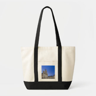 Tuscany, Lucca, Piazza San Michele at Dawn Tote Bag