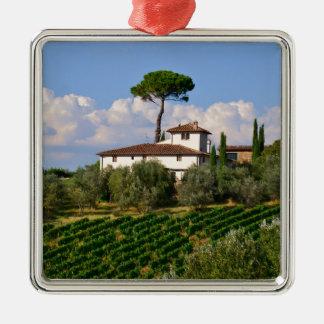 Tuscany Metal Ornament