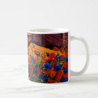 tuscany poppies 45 mug