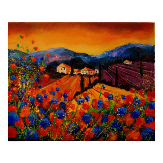 tuscany poppies 45 posters