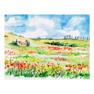 Tuscany Postcard