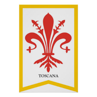 Tuscany Region  Poster