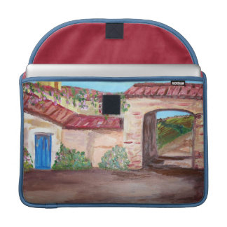 Tuscany Rickshaw Flap Sleeve MacBook Pro Sleeve