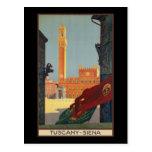 Tuscany Siena Postcard
