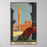 Tuscany Siena Posters