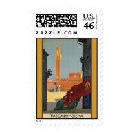 Tuscany Siena Stamp