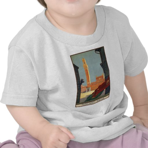 Tuscany Siena T-shirts
