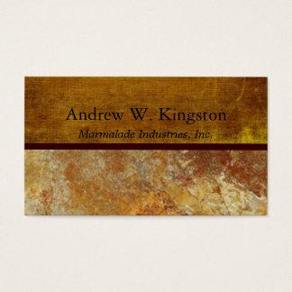 Tuscany Stone Business Executive Business Card