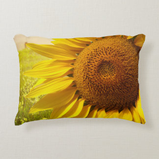 Tuscany Sunflowers Accent Pillow