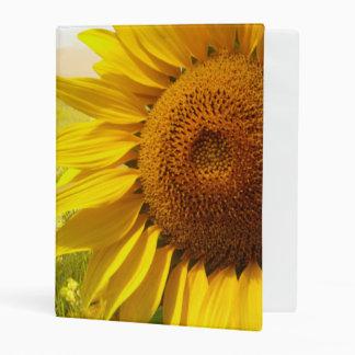 Tuscany Sunflowers Mini Binder