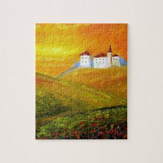 Tuscany Sunshine Jigsaw Puzzle