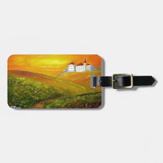 Tuscany Sunshine Tags For Luggage