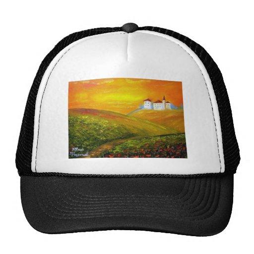 Tuscany Sunshine Mesh Hat