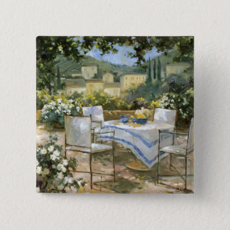 Tuscany Terrace Pinback Button