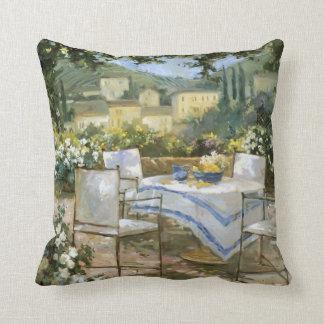 Tuscany Terrace Throw Pillow