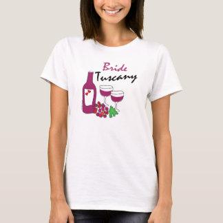 Tuscany Weddings, Bride T-Shirt