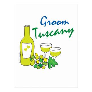 Tuscany Weddings, Groom Post Cards