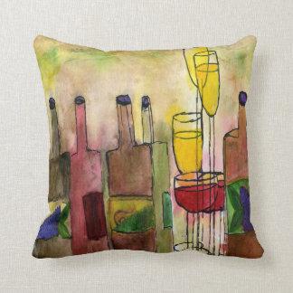 Tuscany Wine Throw pillow