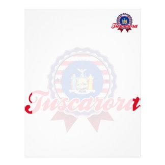 Tuscarora, NY Personalized Letterhead