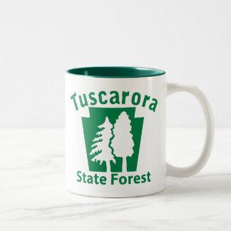 Tuscarora SF Trees - Mgu Coffee Mugs