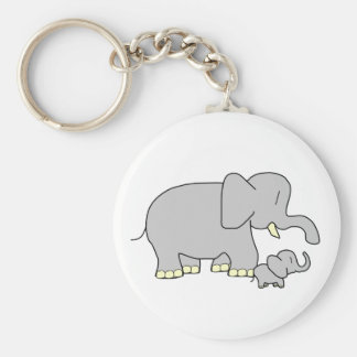 Tusk Love World's Best Mom/Dad! Keychain