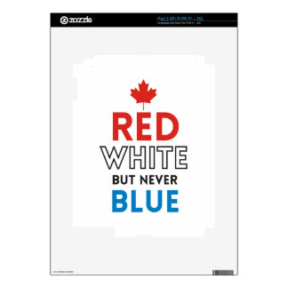 Tusk – Red White But Never Blue Decals For iPad 2