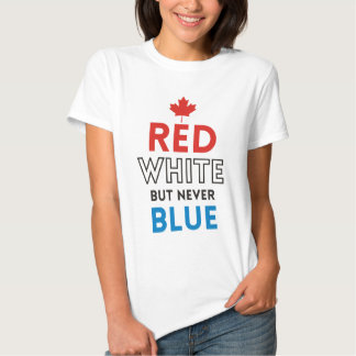 Tusk – Red White But Never Blue T-shirt
