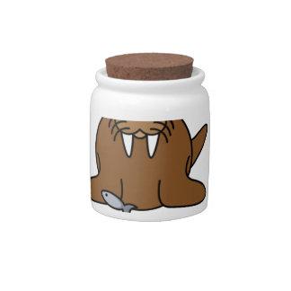 tusk trust candy jar