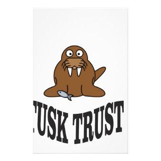 tusk trust stationery