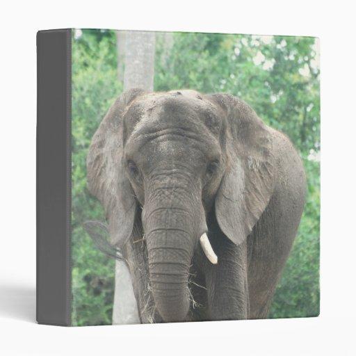 Tusked Elephant  Binder