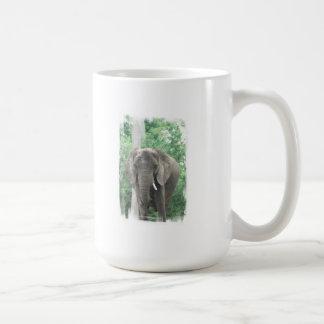 Tusked Elephant  Coffee Mug