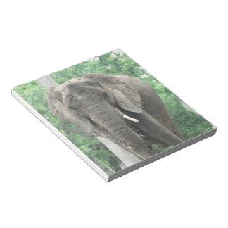 Tusked Elephant  Notepad
