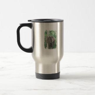 Tusked Elephant  Travel Mug