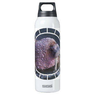 Tusked Walrus 16 Oz Insulated SIGG Thermos Water Bottle