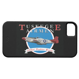 Tuskegee Airman P-51D Red Tail iPhone SE/5/5s Case