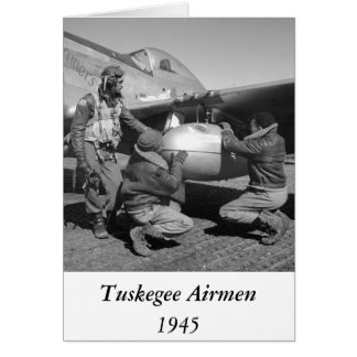 Tuskegee Airmen, 1945 Greeting Cards