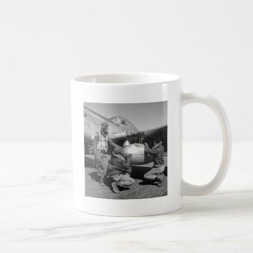 Tuskegee Airmen, 1945 Classic White Coffee Mug