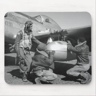 Tuskegee Airmen, 1945 Mouse Pad