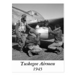 Tuskegee Airmen, 1945 Postcard