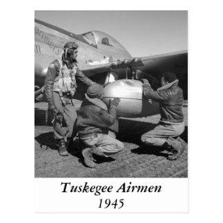 Tuskegee Airmen, 1945 Postcards