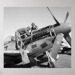 Tuskegee Airmen: 1945 Poster