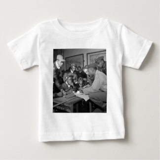 Tuskegee Airmen 332nd Fighter Group Pilots Baby T-Shirt