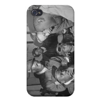 Tuskegee Airmen 332nd Fighter Group Pilots iPhone 4/4S Cases