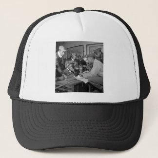 Tuskegee Airmen 332nd Fighter Group Pilots Trucker Hat