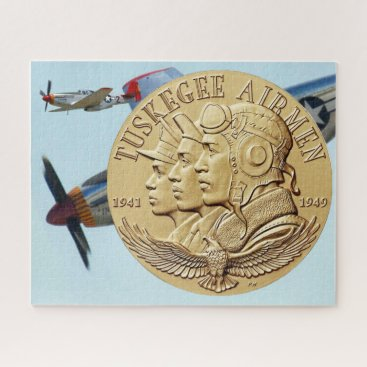 TUSKEGEE AIRMEN COIN JIGSAW PUZZLE